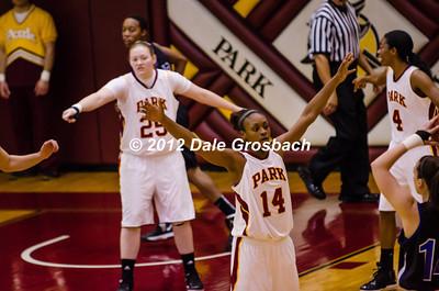 Image: 030_  November 17, 2012; Parkville, MO; Park (MO) Pirates vs. Oklahoma City (Ok) Stars.  Mandatory Credit: Dale Grosbach-Dale G Sports