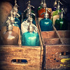 Antique Vintage Seltzer Bottles - Retro