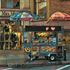 Little Wagon on the Corner 2 - Sidewalks of New York