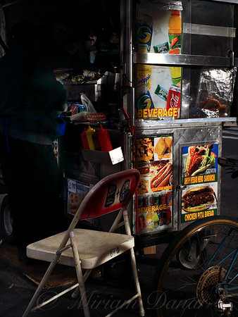 New York City Street Food - Light And Shadow