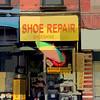 Shoe Repair Shoeshine - Old Buildings of New York City