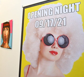 MARKO STOUT solo exhibition opening on September 17, 2021 at the Brooklyn Art Cave, 897 Broadway in Brooklyn, New York.