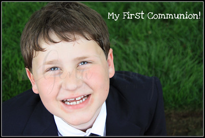 Mark's 1st Communion