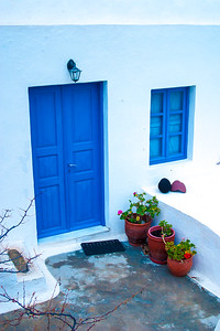 Blue and White are the national colors of Greece.
