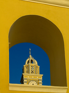 Greek Orthodox church in Fira, Santorini