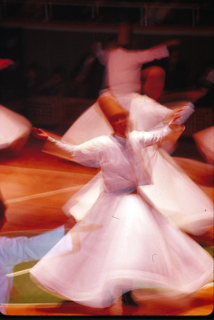 Whirling Dervishes (religious ceremony) Konya, Turkey