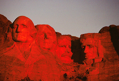 Sunrise, Mt Rushmore, South Dakota