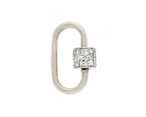 Marla Aaron x Jewels by Grace Lock, White Gold
