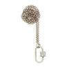 Marla Aaron Stoned Lock for Jewels by Grace Exclusive, Rose Gold 2