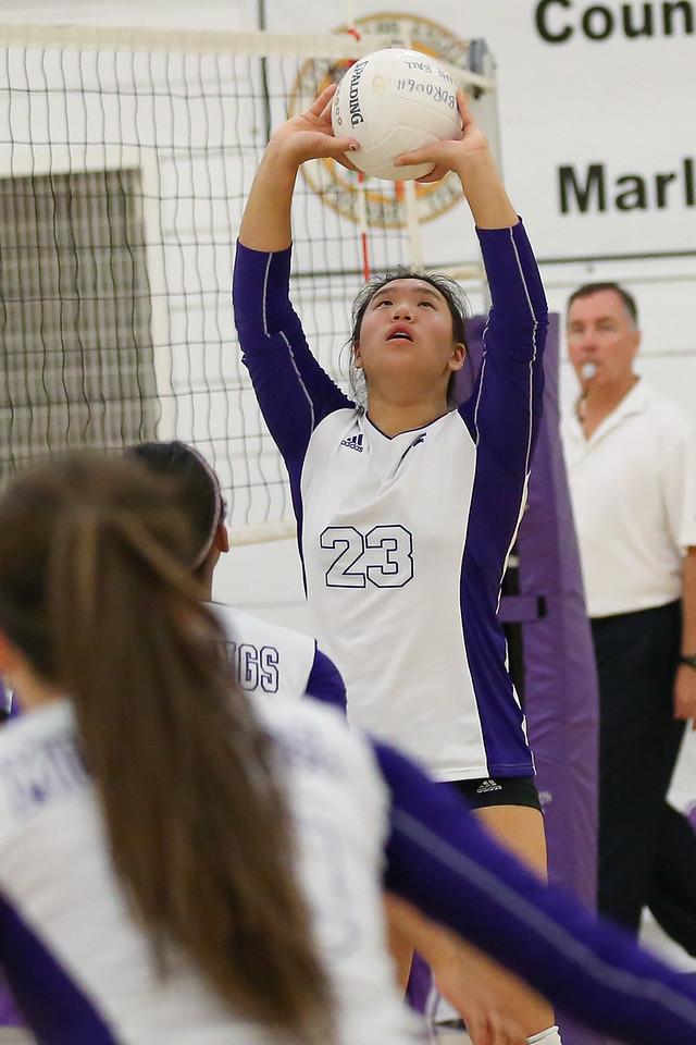 2014.10.7 Varsity Volleyball