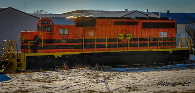 #3421 - EMD SD SD40-2 (former ICE #6424) Rapid City, Pierre and Eastern
