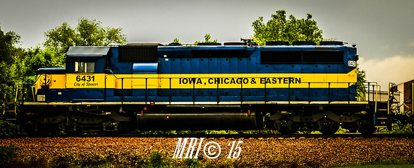 "#6431 - ""City of Spencer"" - EMD SD40-2 - Iowa Chicago and Eastern"