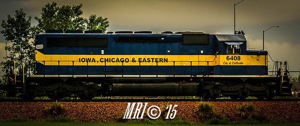"#6408 - ""City of Chillicothe"" - EMD SD40-3 - Iowa, Chicago and Eastern"