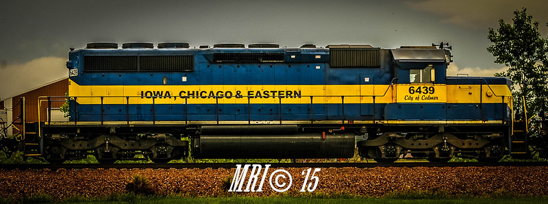 "#6439 - ""City of Calmer"" - EMD SD40-2 - Iowa, Chicago and Eastern"
