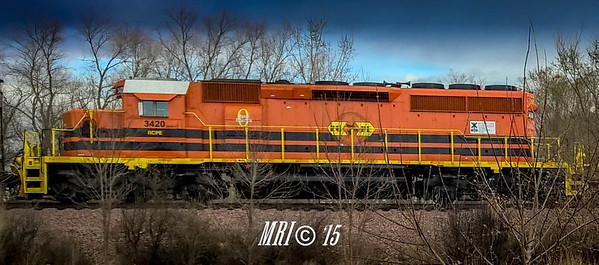#3420 - EMD SD40-2 (former ICE #6402) - Rapid City, Pierre and Eastern