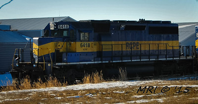 #6418 - EMD SD40-2 - Rapid City, Pierre and Eastern