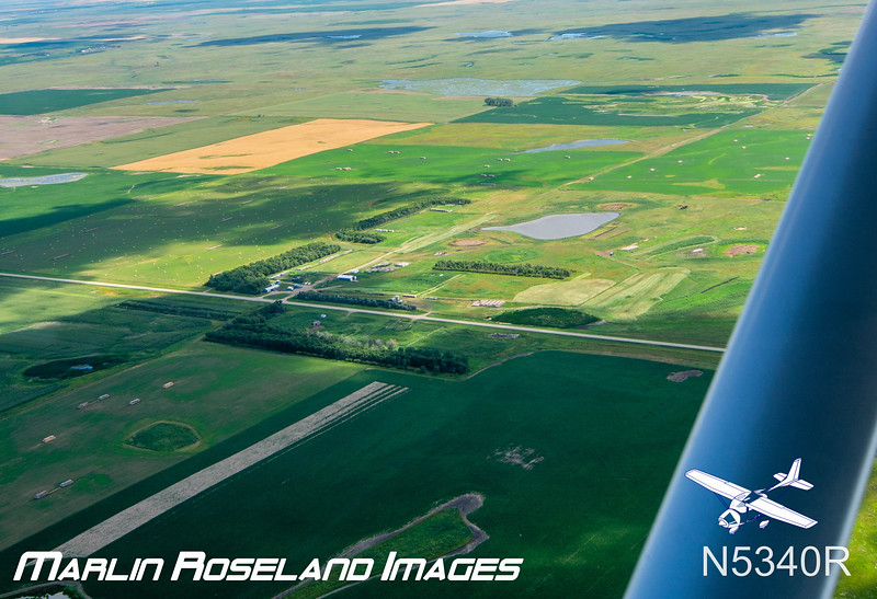 William Roseland Farm (foreground) ~ Where my Dad Grew up  ~  Bruce roseland  Lives across the road