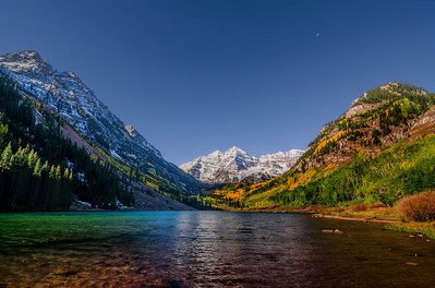 Maroon Bells near Aspen Colorado