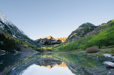 Maroon Bells First Shot
