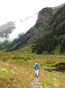 Peter in Snowmass Creek Valley