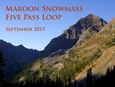 In September 2015 Chris, Peter and I did a 40 mile 5 pass loop around Maroon Peak in the Maroon Snowmass Wilderness, Colorado. Most of the trail was above 10,000 feet. To acclimate (coming from Brooklyn), we first went to Colorado Springs, where we happened across their annual Ballooning Festival.
