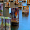 Pylons at the Lower Harbor Ore Dock