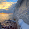 Winter at the Upper Harbor Breakwall
