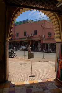 T2660 View from Souk, Marrakesh