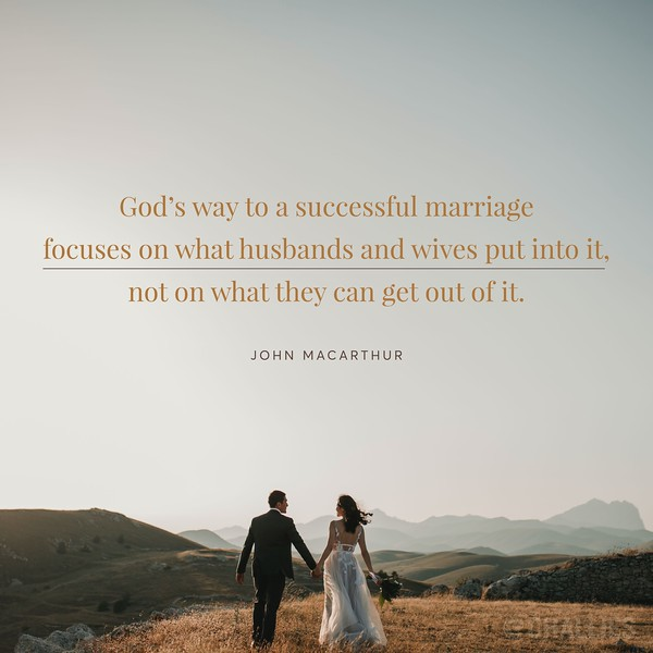 John MacArthur on a Successful Marriage