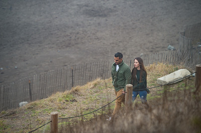 Marriage Proposal of Andy and Elizabeth at Muir Beach