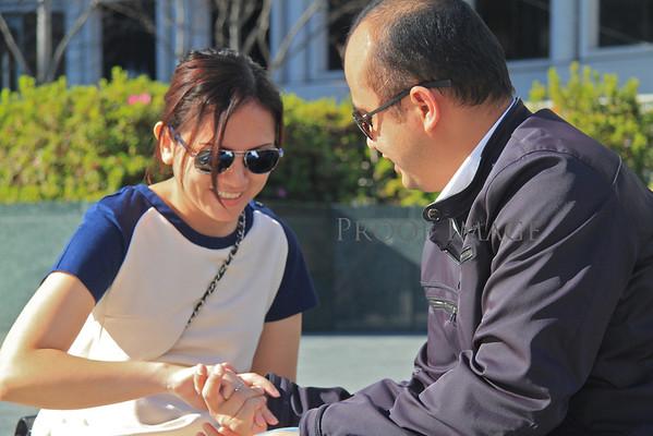 Union Square Wedding Proposal