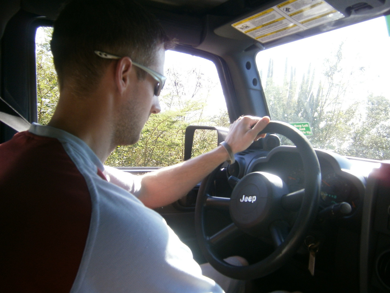 We certainly got our moneys worth out of this 4wd jeep rental. Just remember to drive on the left!