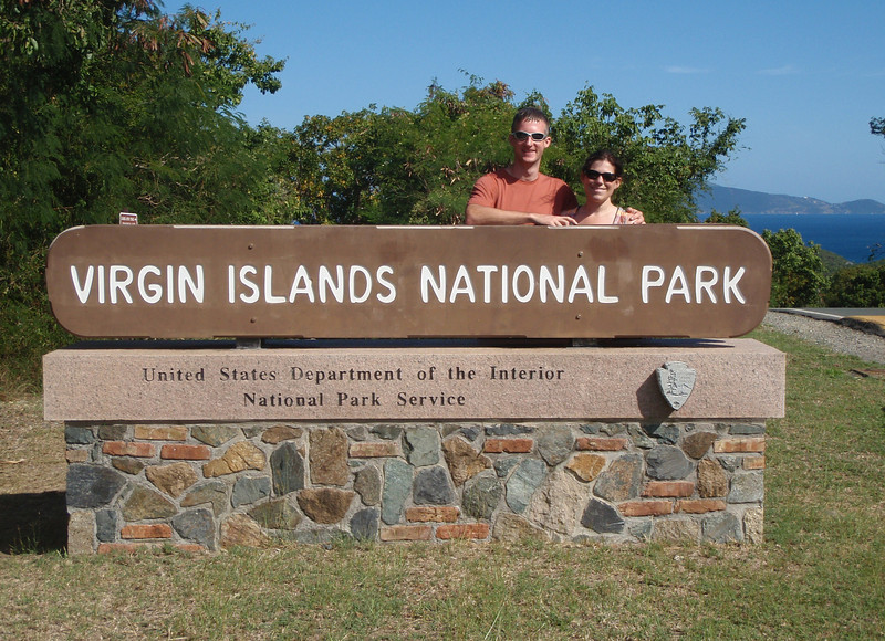 Two thirds of the island is national park.