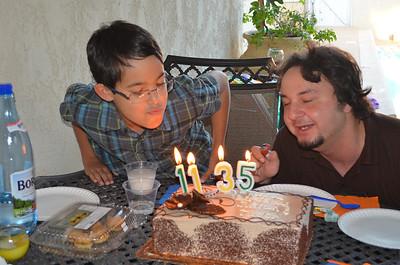 2013_10_06 Julian and Tudor's Birthday Party
