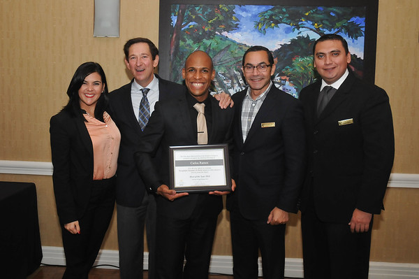 Marriott Brillant Host  of the year  2015