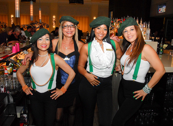 san patrick day party  marriott