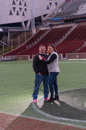Lauren and Zack at UC