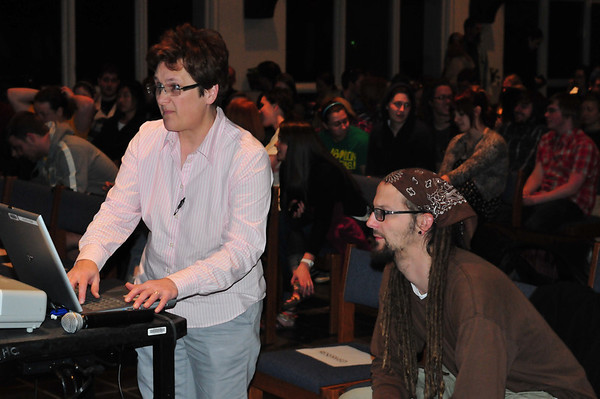 Shane Claiborne comes to Mars Hill College Feb 2011