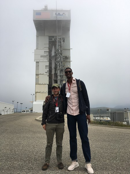 The Atlas V-401 launch rocket is 188 feet tall or 28.9 times the height of Chris Bosh and 35.3 times the height of me.
