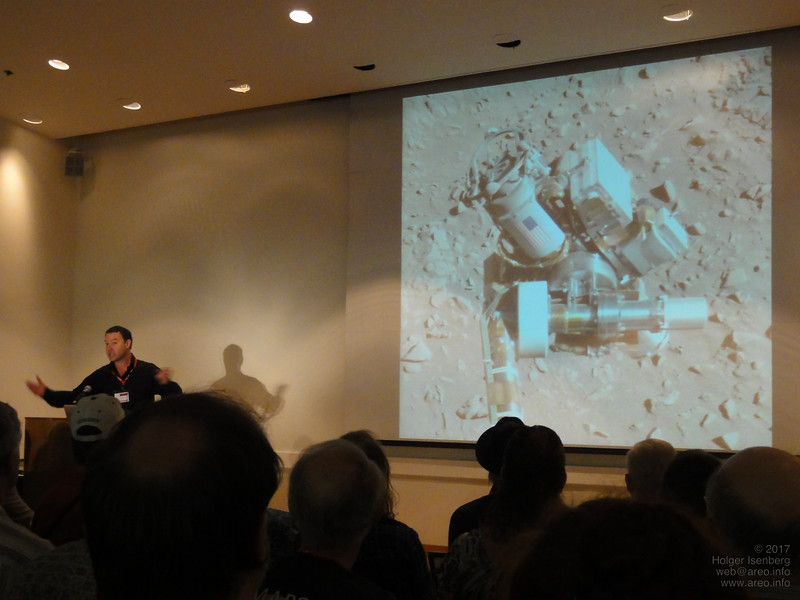 Dr. Jim Bell, Prof. Arizona State University and planetary scientist on several Mars missions talks about the Mars Exploration Rovers..