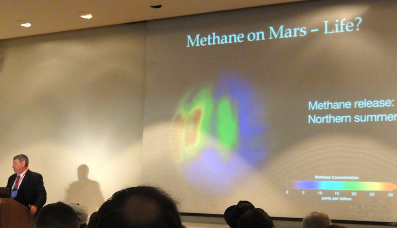 "Dr. Simon ""Pete"" Worden, Director NASA Ames (Brig. Gen., USAF, ret.) talks about the search for Life in the Universe"