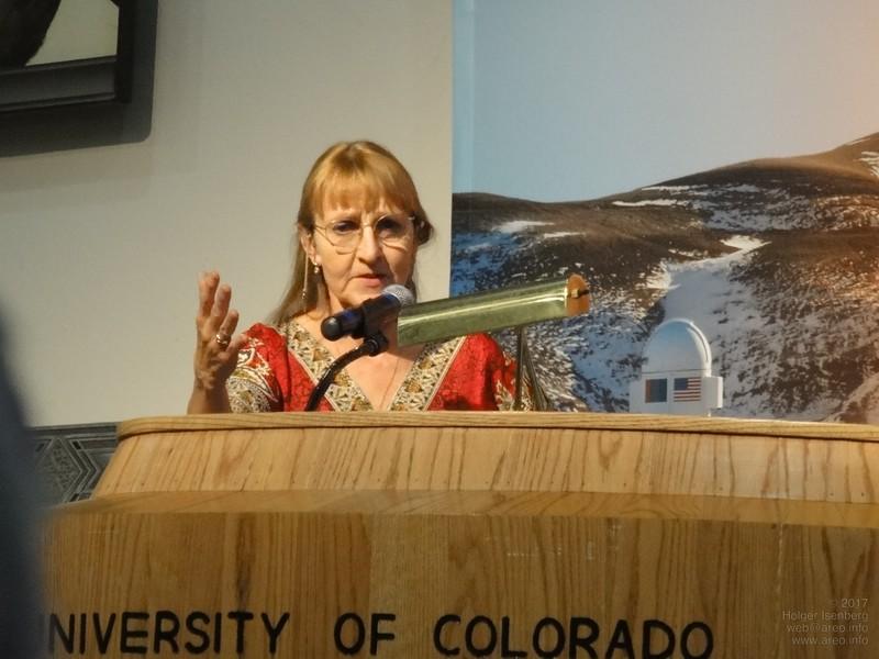 Dr. Carol Stoker, NASA Ames Research Center,Co-Investigator Phoenix Lander
