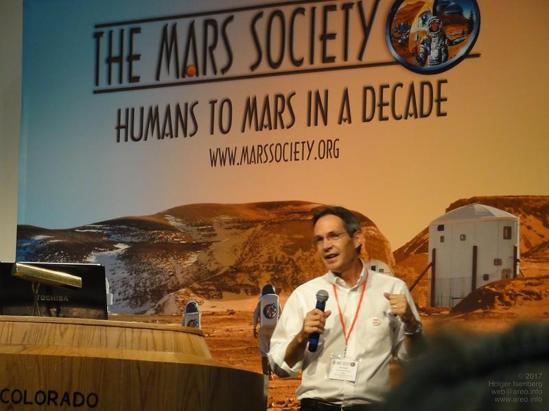 John Brophy, Ion Propulsion System Manager for Dawn Mission, JPL