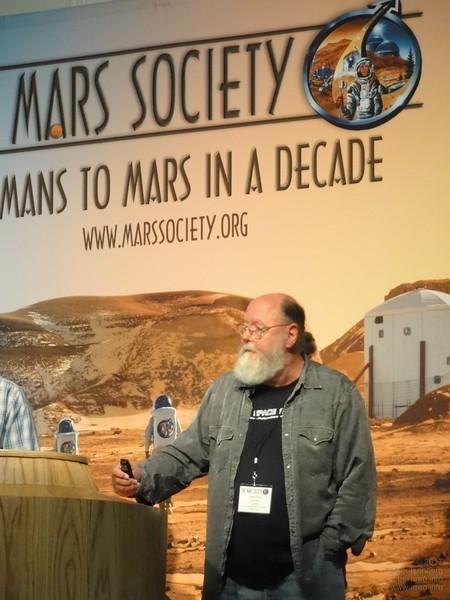 "Leonard David, journalist for <a href=""http://space.com"">http://space.com</a>, Space Coalition and Space News"