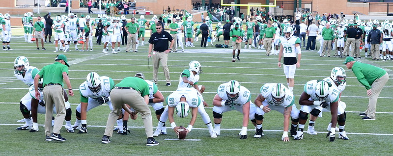 Marshall at North Texas State 10-08-2016