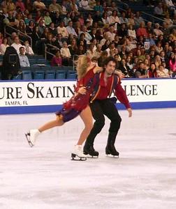 Tanith and Ben at Marshalls 2005