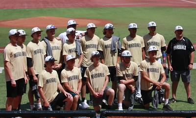 Marshals Baseball Summer 2018