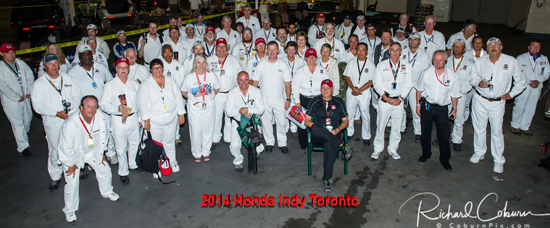 2014 Honda Indy Toronto Marshals