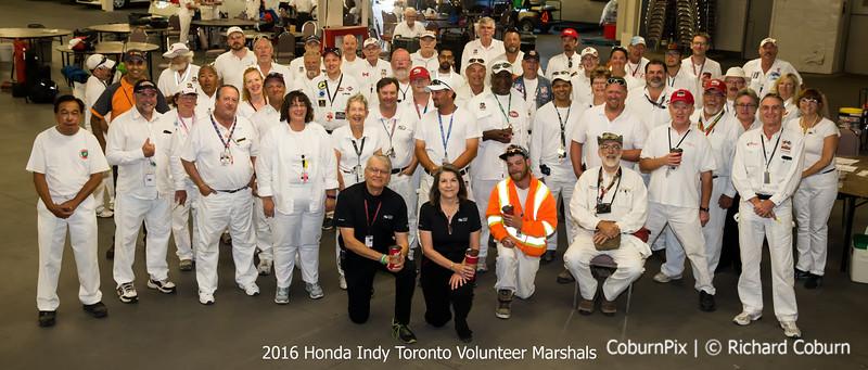 2016 Honda Indy Toronto Marshals labelled