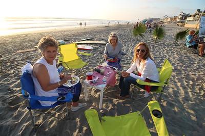 Marsha's 80th beach bday celebration